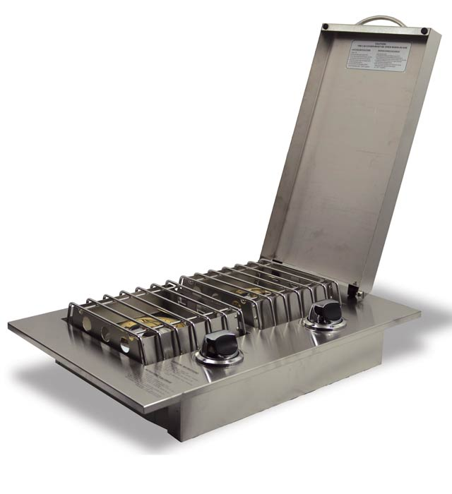 Jackson Grills Double Side Burner System