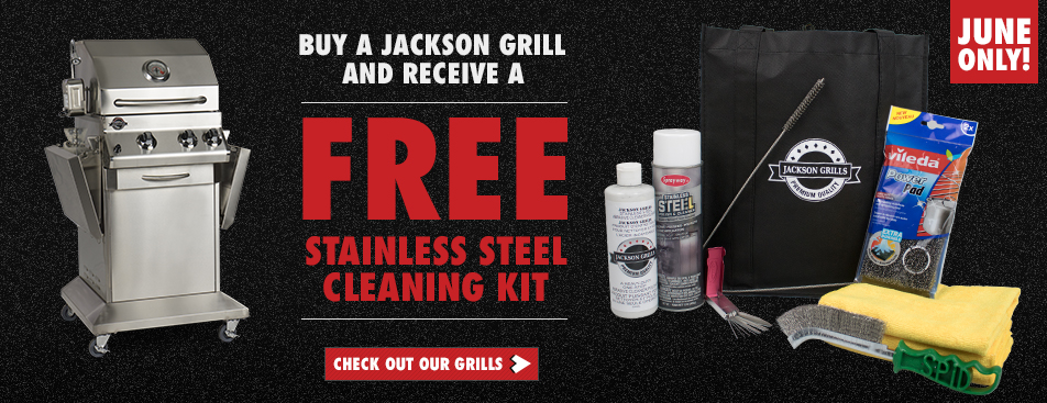 BBQ Grill Cleaning Kit