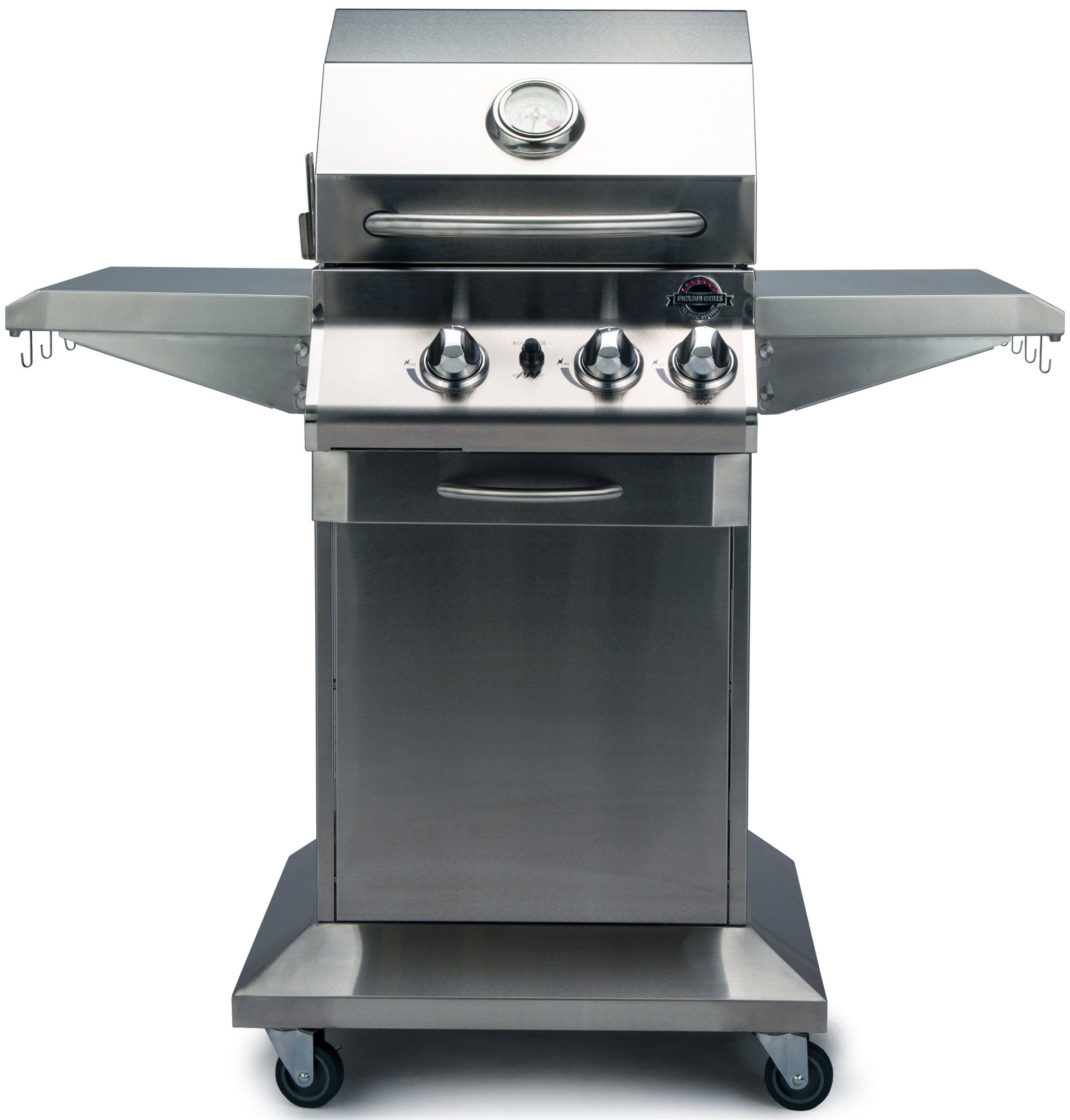 wrotisserie with natural rotisserie steel in gas aog base bbq grills pedestal on stainless product grill series t