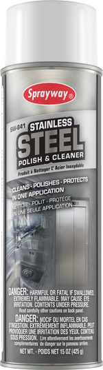 Stainless steel polish and cleaner